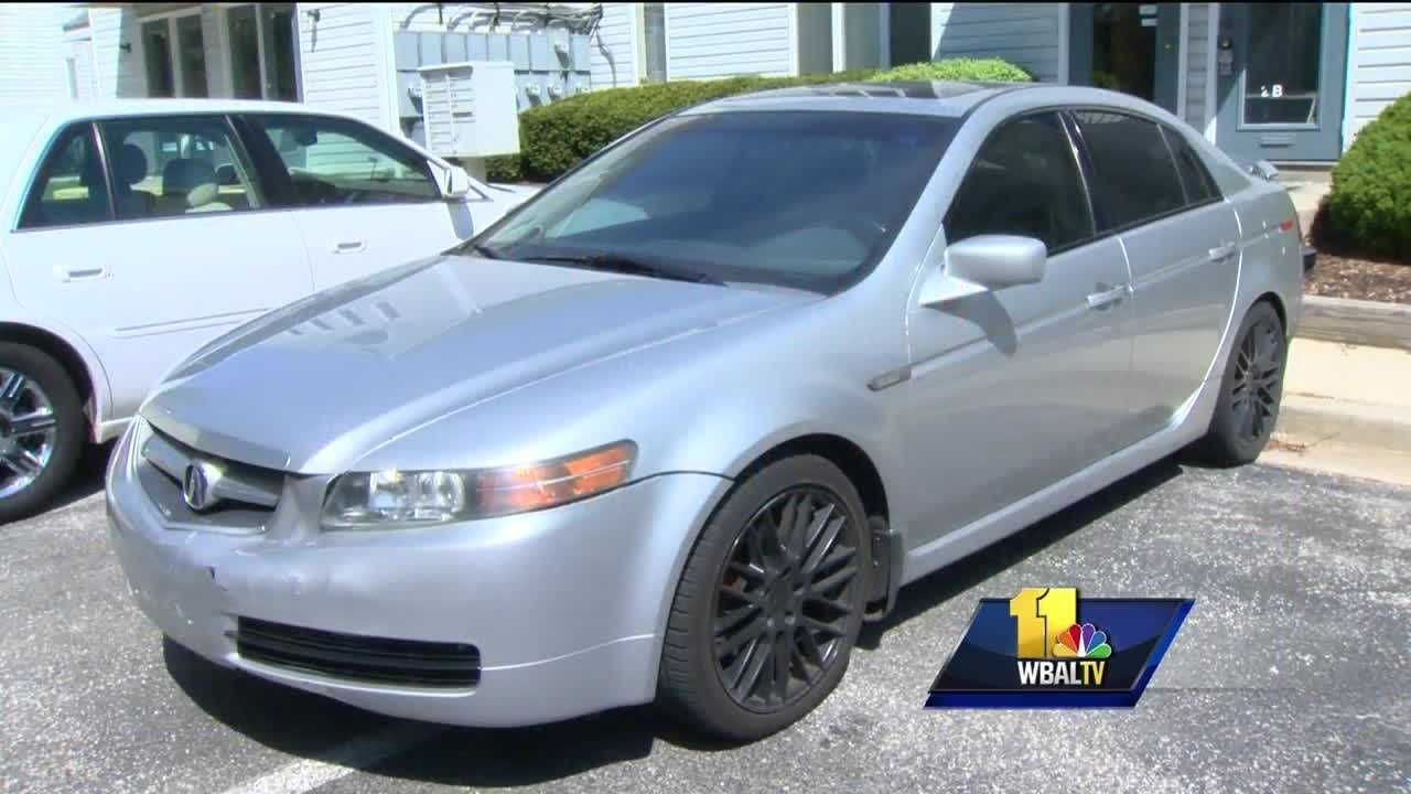 A Maryland Uber driver is sharing his experience of having his car stolen after a crash in hopes of preventing others from becoming victims. Uber driver Henry Marucut described bump-and-steal tactics thieves used on East Northern Parkway to grab his 2006 Acura TL around 2 a.m. on April 11. When a car hit the back of his Acura, Marucut stopped to check for damage.
