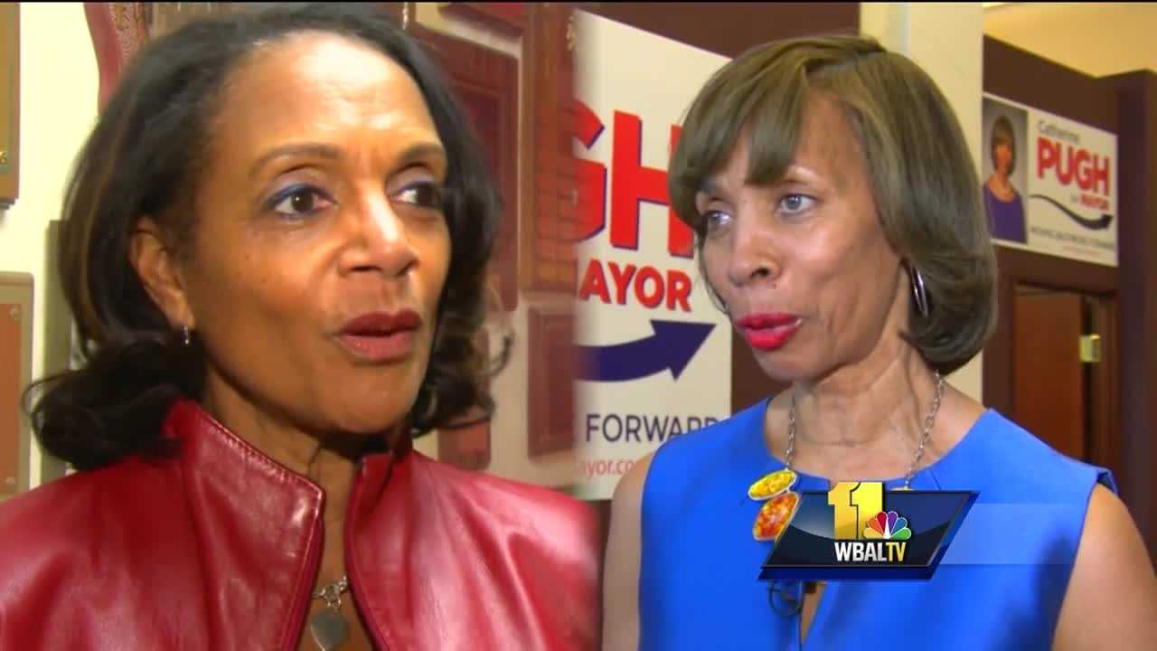 The race for Baltimore mayor has become expensive, as candidates vie to succeed Stephanie Rawlings-Blake. The candidates for mayor spent more than ever before, and finance reports reveal the candidates' super supporters. Because Baltimore is so heavily populated by Democratic voters, the primary Tuesday is seen as the main event. The number of TV ads is all you need to know about the money that has been spent in this mayor's race. The two apparent front-runners in the race have battled it out for donors to pay for a daily dose of TV ads and mailers.