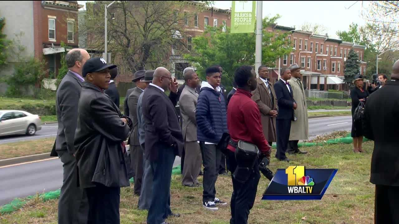 It was a day of reflection throughout Baltimore on Wednesday as many looked back on the one-year anniversary of the city's violence and unrest. The violence occurred in the wake of the police in-custody death of Freddie Gray.
