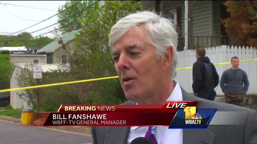 WBFF-TV General Manager Bill Fanshawe speaks about the threat incident at his station.