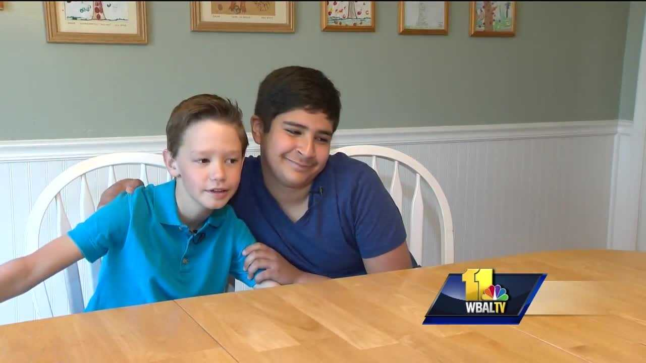 A Harford County 10-year-old boy is proving you don't have to be an adult or raise a lot of money to make a difference.