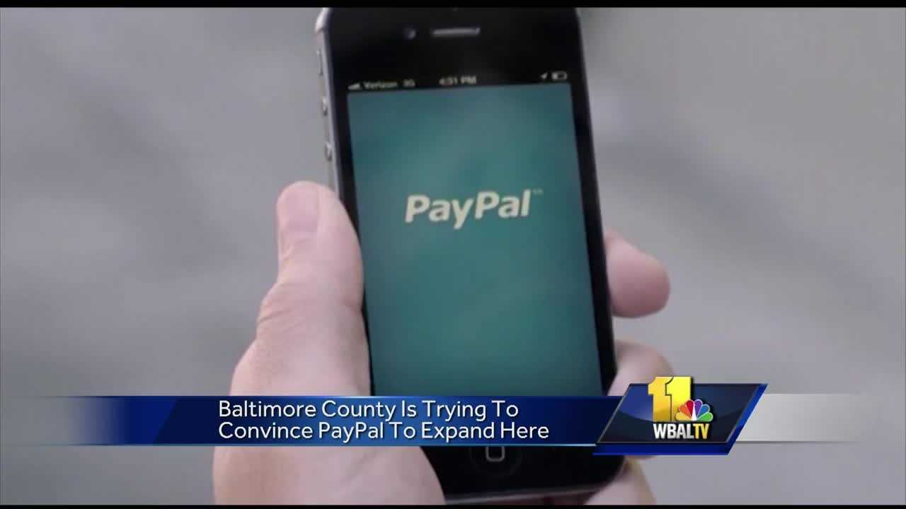 PayPal's decision to abandon plans to expand in North Carolina could mean a chance to bring more jobs to Baltimore County. County Executive Kevin Kamenetz is working to convince PayPal to expand its current office in Hunt Valley and bring the jobs that would have been in North Carolina to Maryland.