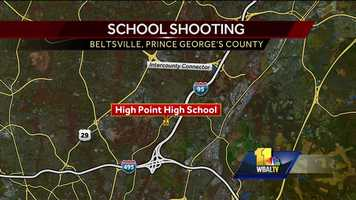 Two people were killed and two others were injured in two shootings in Montgomery County Friday morning and police believe the suspect may be the same man wanted in the fatal shooting of his ex-wife the day before at High Point High School.