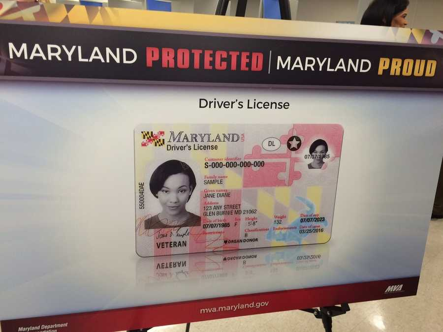Maryland's new secure driver's license and identification card were unveiled on Monday. Officials said the new cards feature multiple layers of security to help prevent identity theft and fraud and are one of the most secure products in the nation.