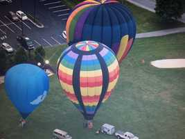 Turf Valley Hot Air Balloon Fesitval celebrates Preakness