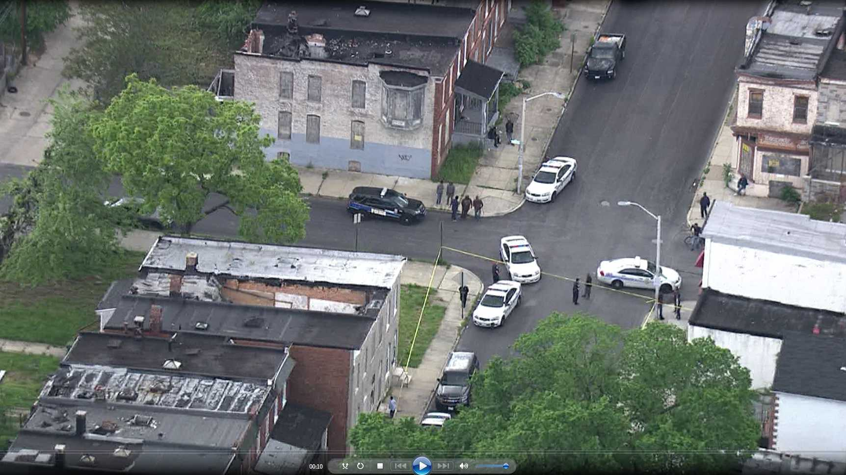 Baltimore police are investigating a shooting that happened late Thursday afternoon in the 1600 block of Abbottson Street.