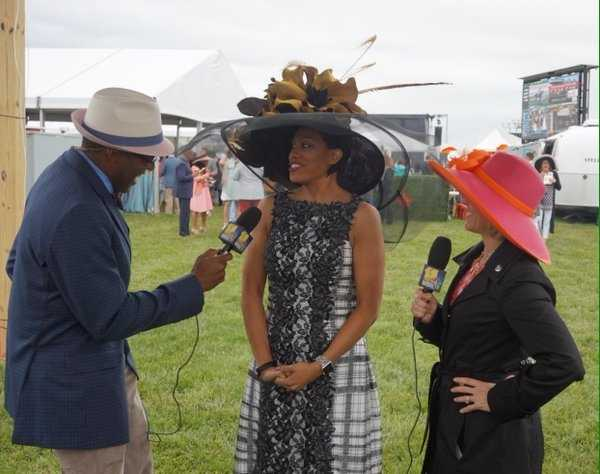 Baltimore Mayor Stephanie Rawlings-Blake at the Preakness