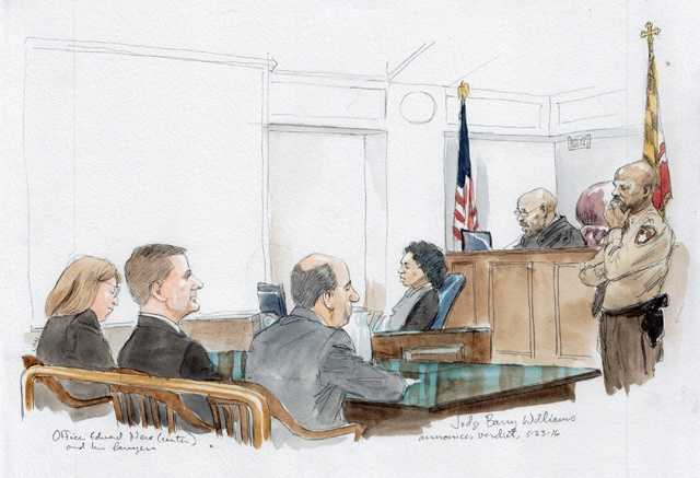 Officer Edward Nero trial: Judge reading verdict