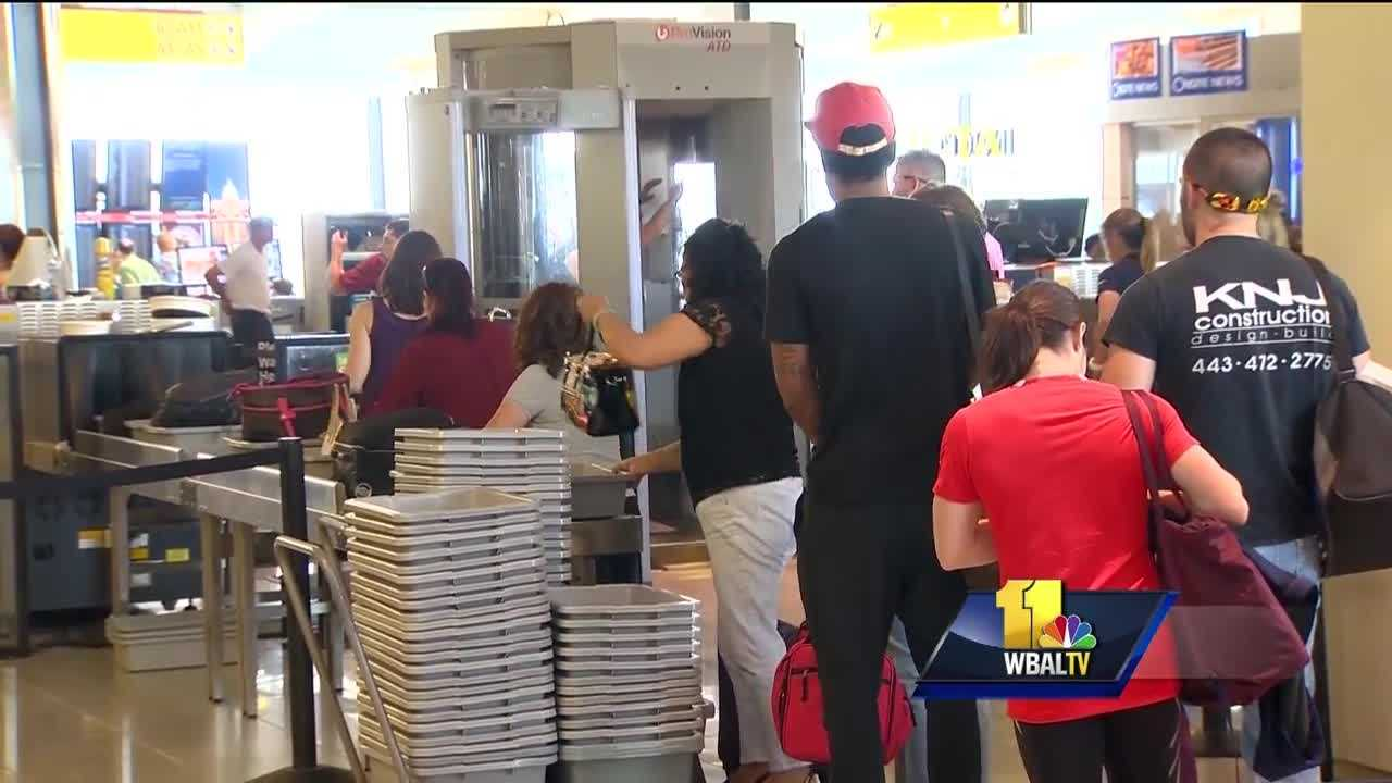 The long lines at Transportation Security Administration checkpoints are expected to get worse this summer, and some airlines at Baltimore-Washington International Thurgood Marshall Airport are trying to help the TSA.