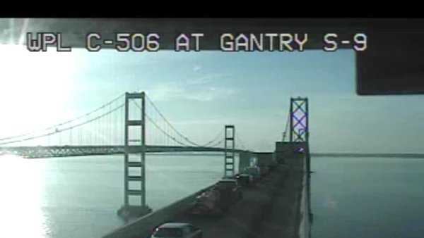 Traffic was held on the eastbound span of the Bay Bridge Thursday morning due to police activity.
