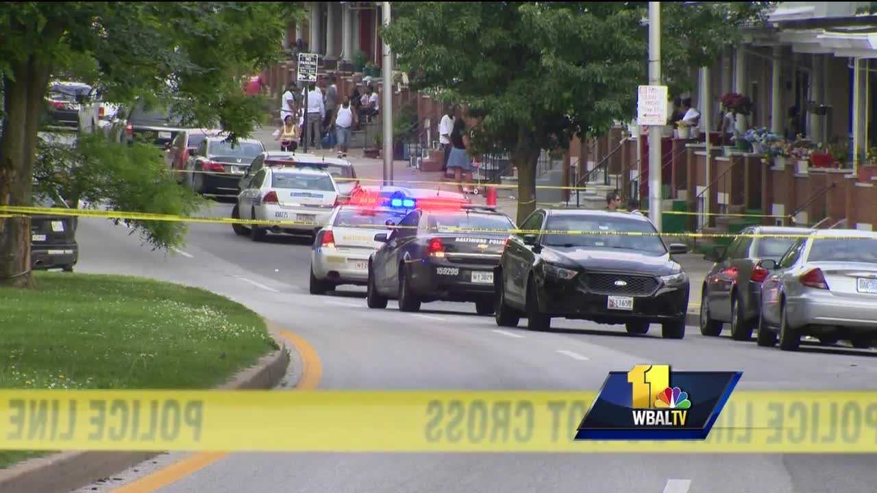 Another night of violence in Baltimore is only adding to a grim statistic. There are more than 100 homicides in the city so far in 2016. Two more victims joined the list Thursday as city police said two men shot in northeast Baltimore have died.