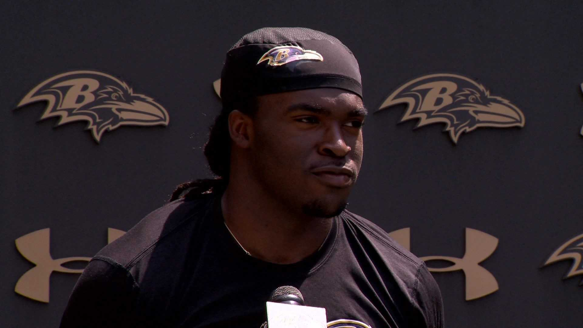 Ravens WR Breshad Perriman was the team's first round pick in the 2015 NFL Draft.