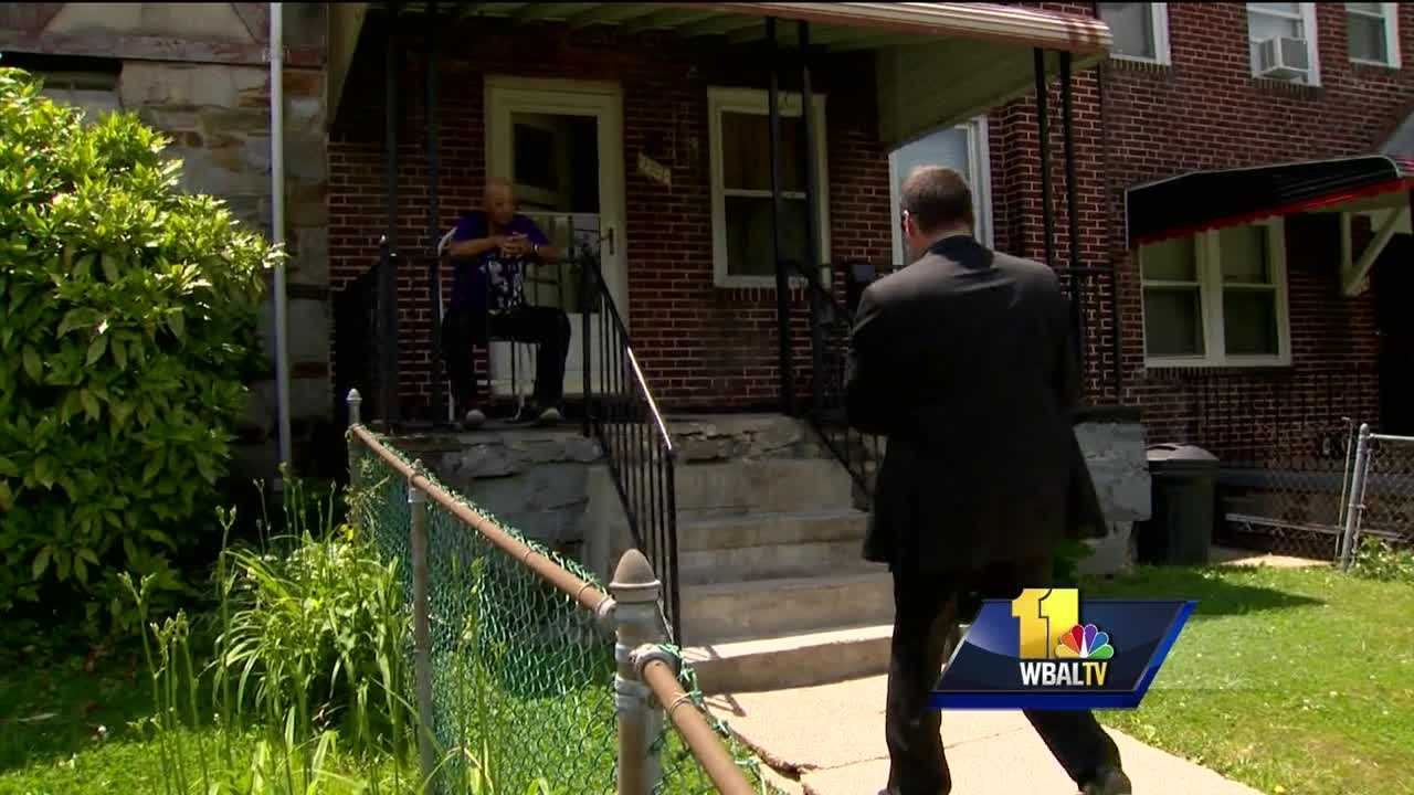 Baltimore City police canvassed the Park Heights neighborhood Tuesday, seeking information about three significant crimes against women in the past month. Officers also released new information and a possible link between two of the crimes. Detectives spent part of the day Thursday going door to door, looking for leads in the central Park Heights neighborhood.
