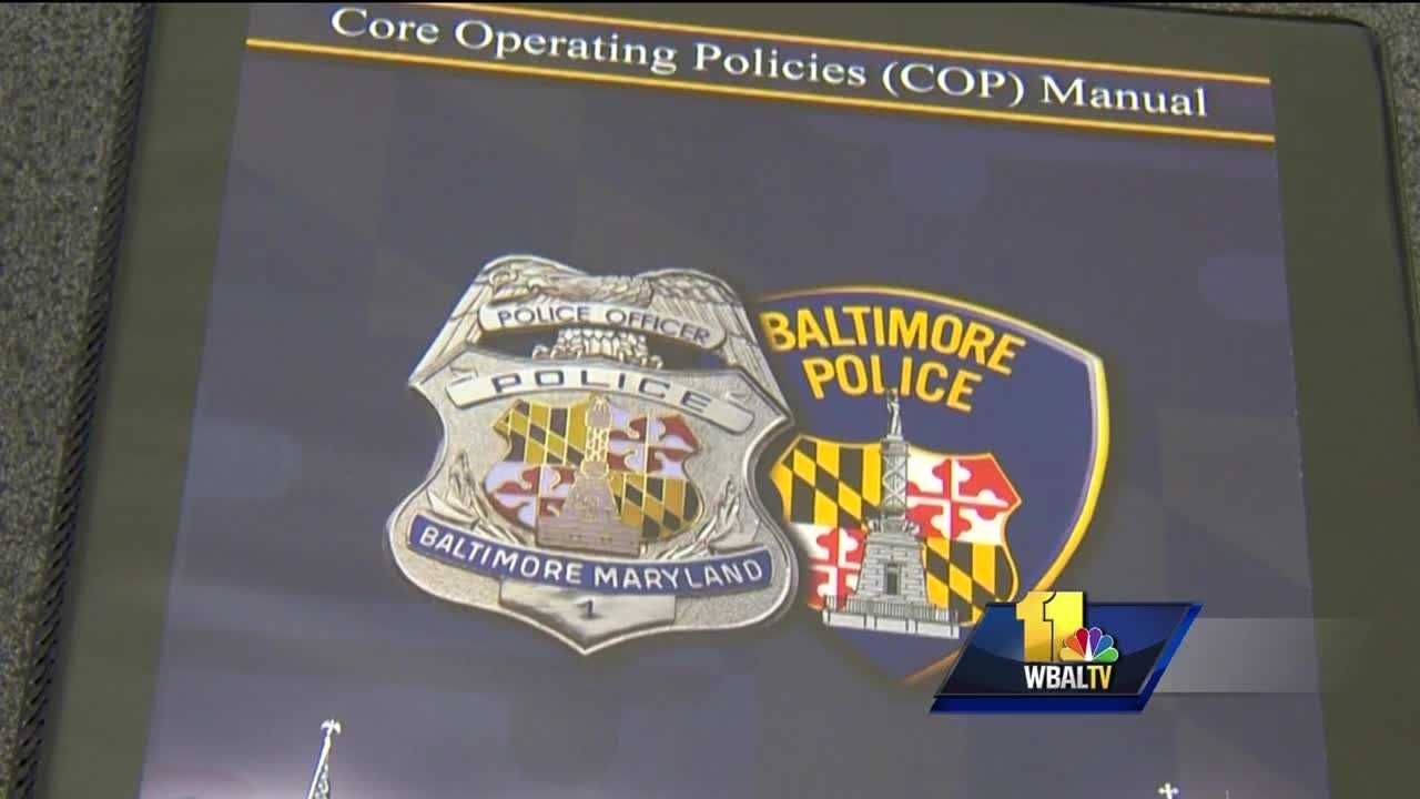 Baltimore City police said the Core Operating Policies Manual, or COP, is another way to improve accountability. The manual lists what the department considers the 26 most important of its 208 policies.
