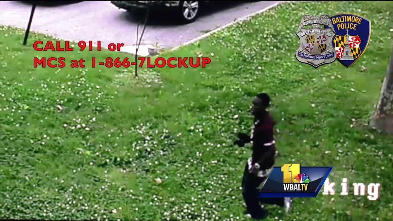 Baltimore police are investigating a botched armed robbery outside a city school Friday afternoon.