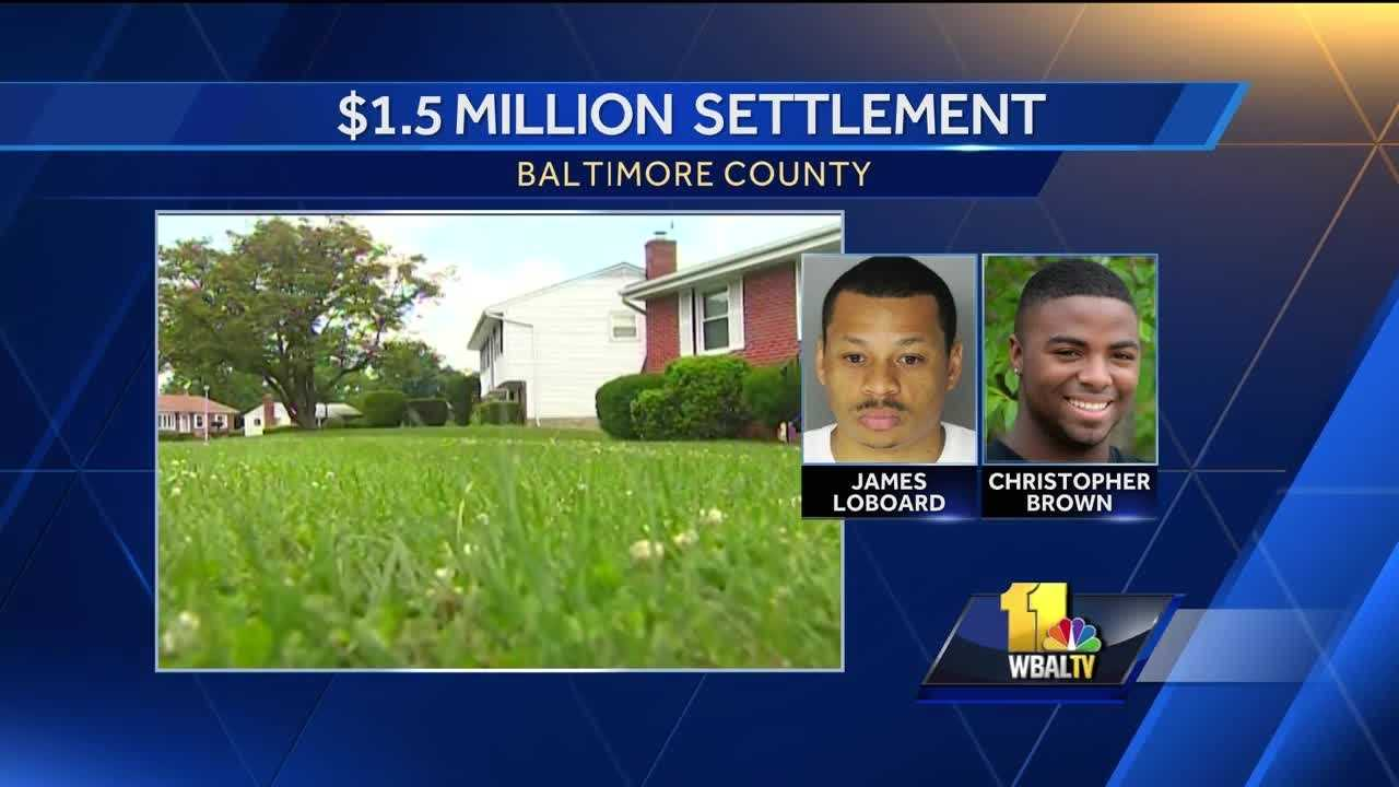 Baltimore County paid $1.5 million to the mother of a teen who died after an off-duty police officer allegedly chased him and placed him in a chokehold before he died in 2012. Officer James D. Laboard was acquitted in 2013 of criminal charges in the death Christopher Brown, a student at Randallstown High School.