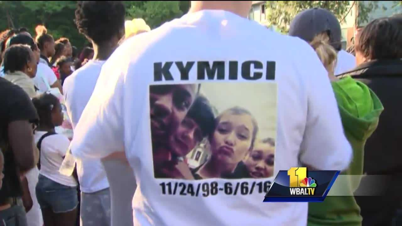 How do you say goodbye to a young woman full of promise? That was a difficult task Wednesday night for dozens of people in Annapolis. Annapolis police said the boyfriend of 17-year-old Kymici Brown is responsible for her death. The loss of this teenager's life is hitting her community hard.