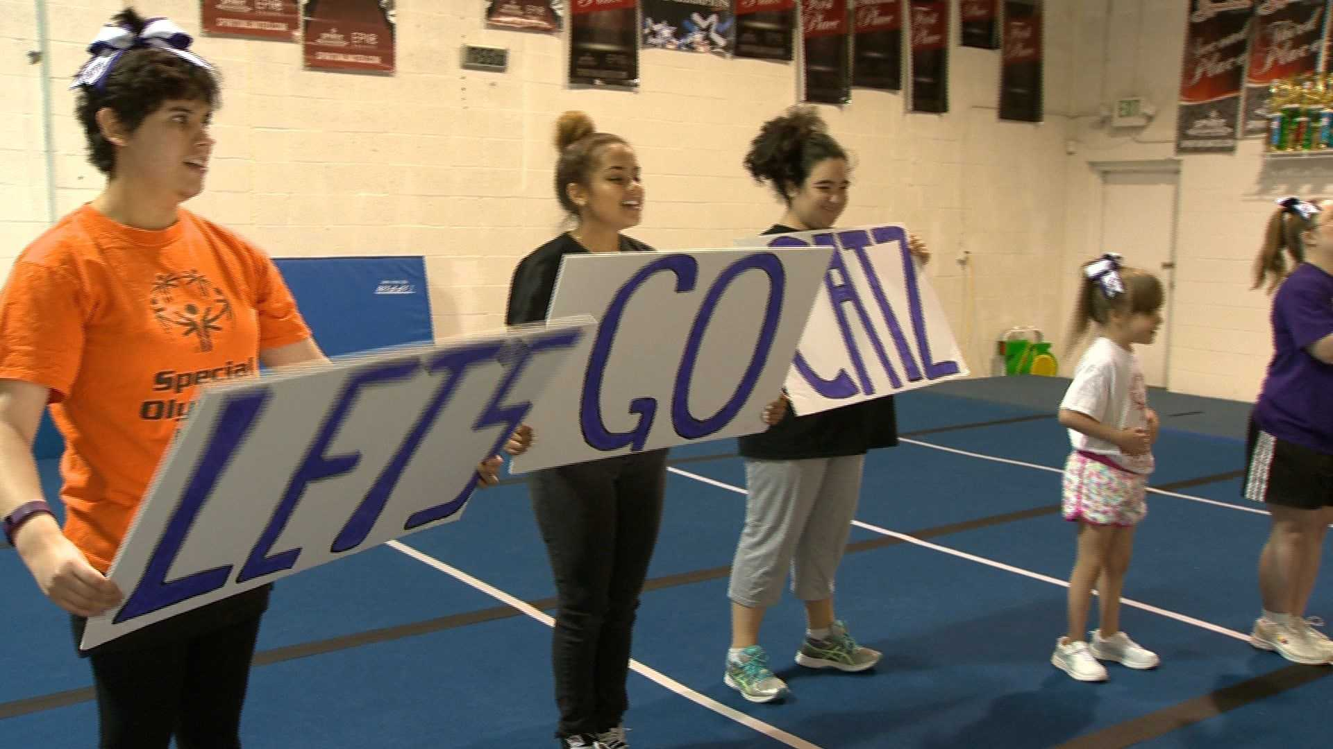 The Maryland Special Olympics Summer Games will include cheerleading this year at Towson University.