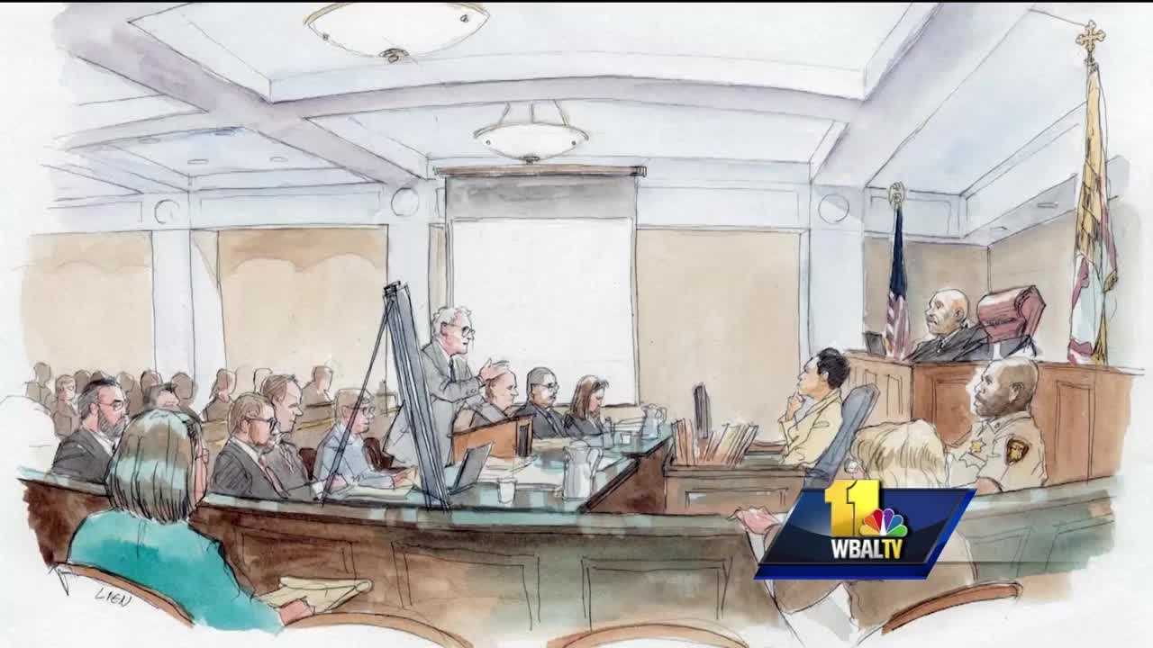 "At the start of the trial for Officer Caesar Goodson, prosecutors argued that Freddie Gray was the victim of a ""rough ride."""