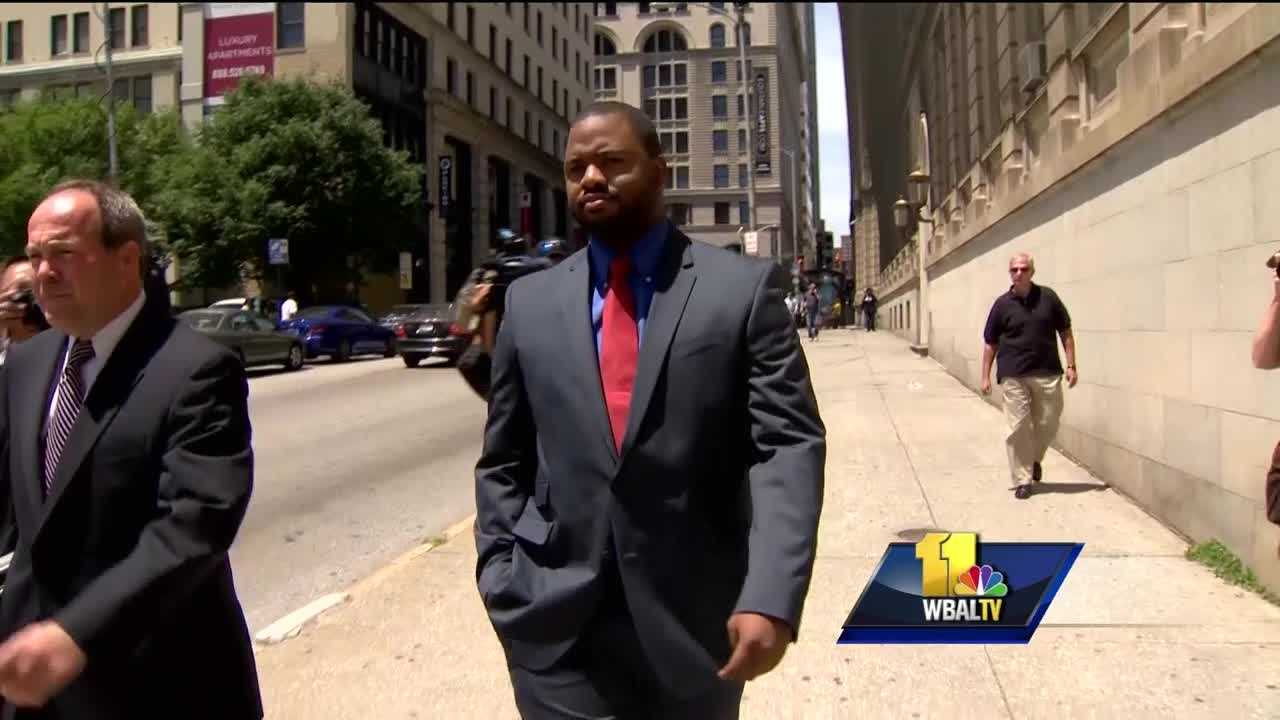 One of six Baltimore police officers charged in connection to the death of Freddie Gray testified for the prosecution Monday in the trial of Officer Caesar Goodson. Officer William Porter testified that Goodson, the transport driver in the van where Gray suffered his fatal injuries on April 12, 2015, was the one who had custody of him.