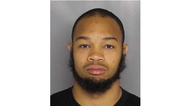 Mark Peters, 28, arrested and is believed to have robbed six convenience stores in three counties and investigators are trying to determine if he is responsible for at least eight others, Baltimore County police said.