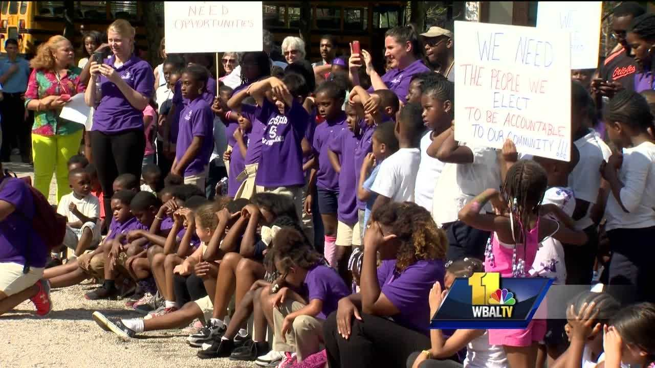 Some Baltimore City parents fear the mayor's promise to fund before- and after-school care programs may still leave their children out. Parents were hopeful when they learned the mayor would put $4 million back into her budget for youth programs, but the fine print indicates that may not help some east Baltimore parents. A week ago, a group of Baltimore school children took their concerns to City Hall, making a pitch to try to save key learning programs, like the one operating out of Waverly and Northwood elementary schools, where more than 70 students are enrolled in school-based before and after care.