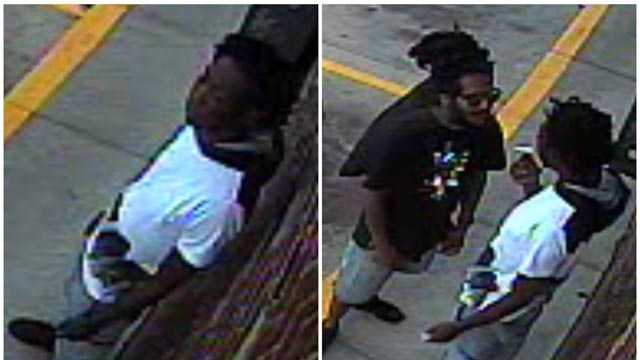 City police are asking for help identifying two people they said were involved in a shooting earlier this month in northeast Baltimore.