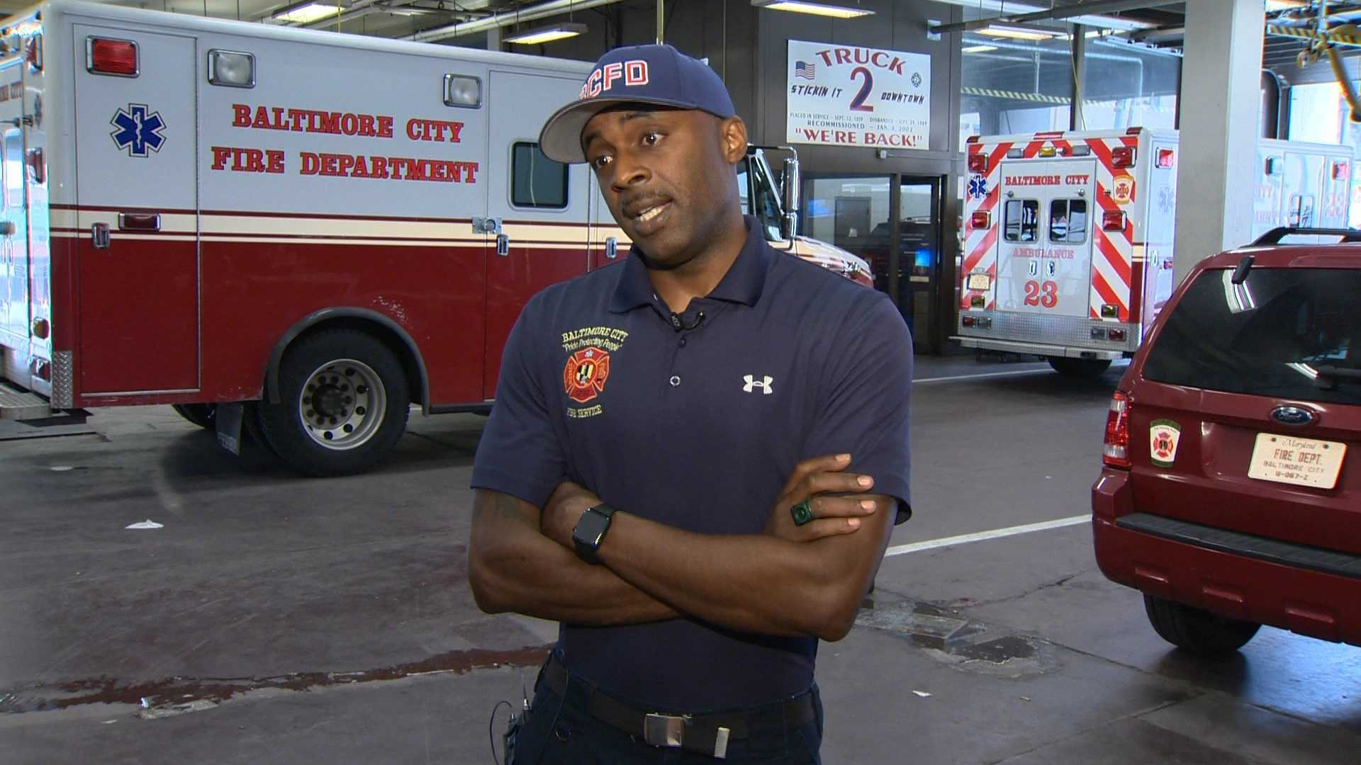 Baltimore firefighter Nick Green will appear on the June 27 episode of American Ninja Warrior.