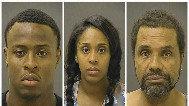 Eddie Lewis, 24, Jennilla Miller, 29 and Tyrone Tisdale, 57, of the 600 block of Beechfield Avenue were arrested on narcotics charges.