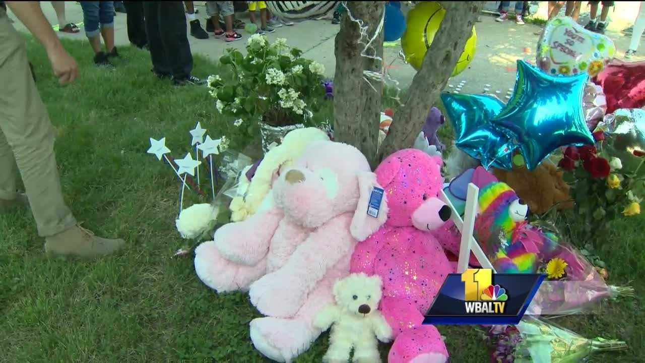 Family, friends and strangers packed the sidewalk outside the school where a 9-year-old girl was killed by a hit-and-run driver. Amirah Kinlaw is being remembered as a sweet girl who had a bright future ahead of her. Amriah's father said she'll always be in his heart and soul. He said all his 9-year-old daughter knew how to do was have fun and smile, and that's the memory everyone should carry with them.