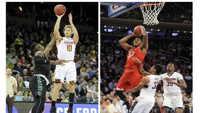 Jake Layman and Diamond Stone became the latest Maryland players to be selected in the NBA Draft. The pair were acquired by the Blazers and Clippers, respectively.