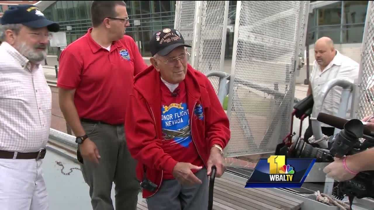 Friday was an emotional day for a World War II veteran who survived the attack on Pearl Harbor. Howard Hayes traveled from Nevada to Baltimore for the chance to see the ship he once served on. At 96, it has been a long time since Hayes has been on his old ship. The U.S. Coast Guard cutter Taney is the last surviving ship from Pearl Harbor.