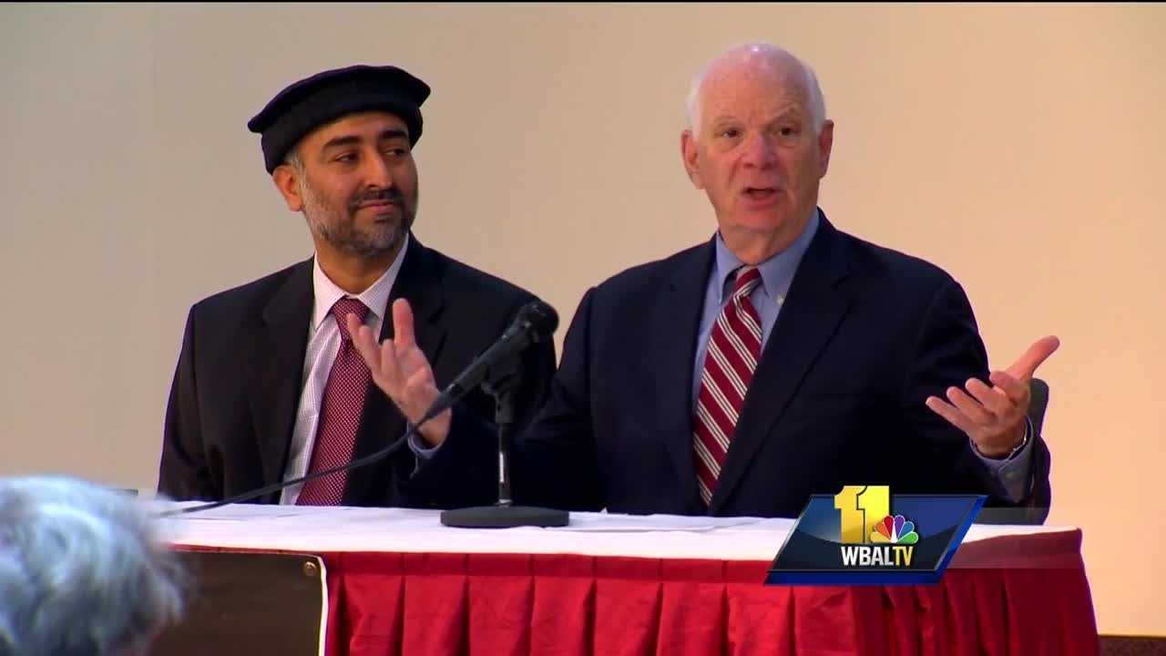 Muslims in the Baltimore region are encouraging open and honest conversation amid all the violence. U.S. Sen. Ben Cardin attended a Baltimore mosque Sunday night and said it's fitting that the United Against Hate event happened the day before Independence Day.
