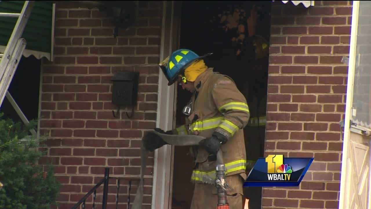 A man has died following a two-alarm house fire early Monday morning in Anne Arundel County. Fire crews were called to fire just after 4 a.m. at a home in 5200 block of Brookwood Road in Brooklyn Park. A resident was found on the second floor of the home and despite paramedics' attempts to resuscitate him, he was declared dead.