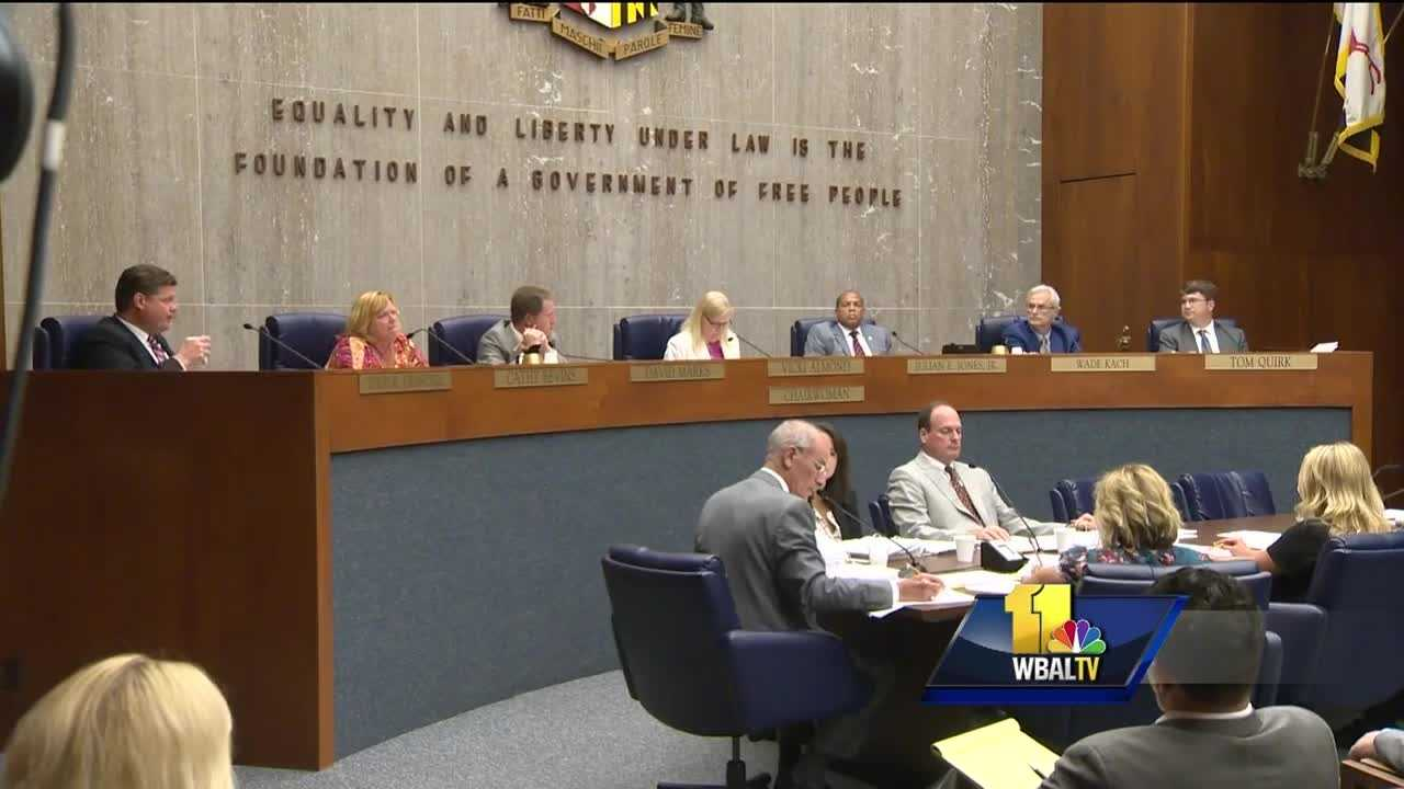 Baltimore County Council members were ready to take a final vote Tuesday on a bill that clarifies what is and is not allowed in county parks. But the vote was delayed for a bit by an idea to allow people to carry guns in parks. The measure failed 4-3.