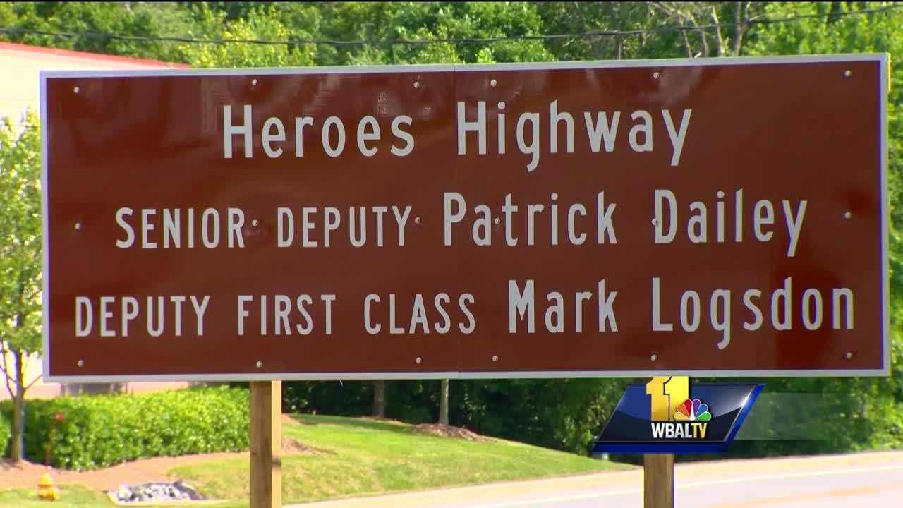 A portion of a state highway in Harford County was dedicated to a pair of fallen sheriff's deputies. Gov. Larry Hogan signed legislation in May to dedicate a section of Route 924 as Heroes Highway in honor of Senior Deputy Patrick Dailey and Deputy First Class Mark Logsdon, who were shot and killed in the line of duty in February.