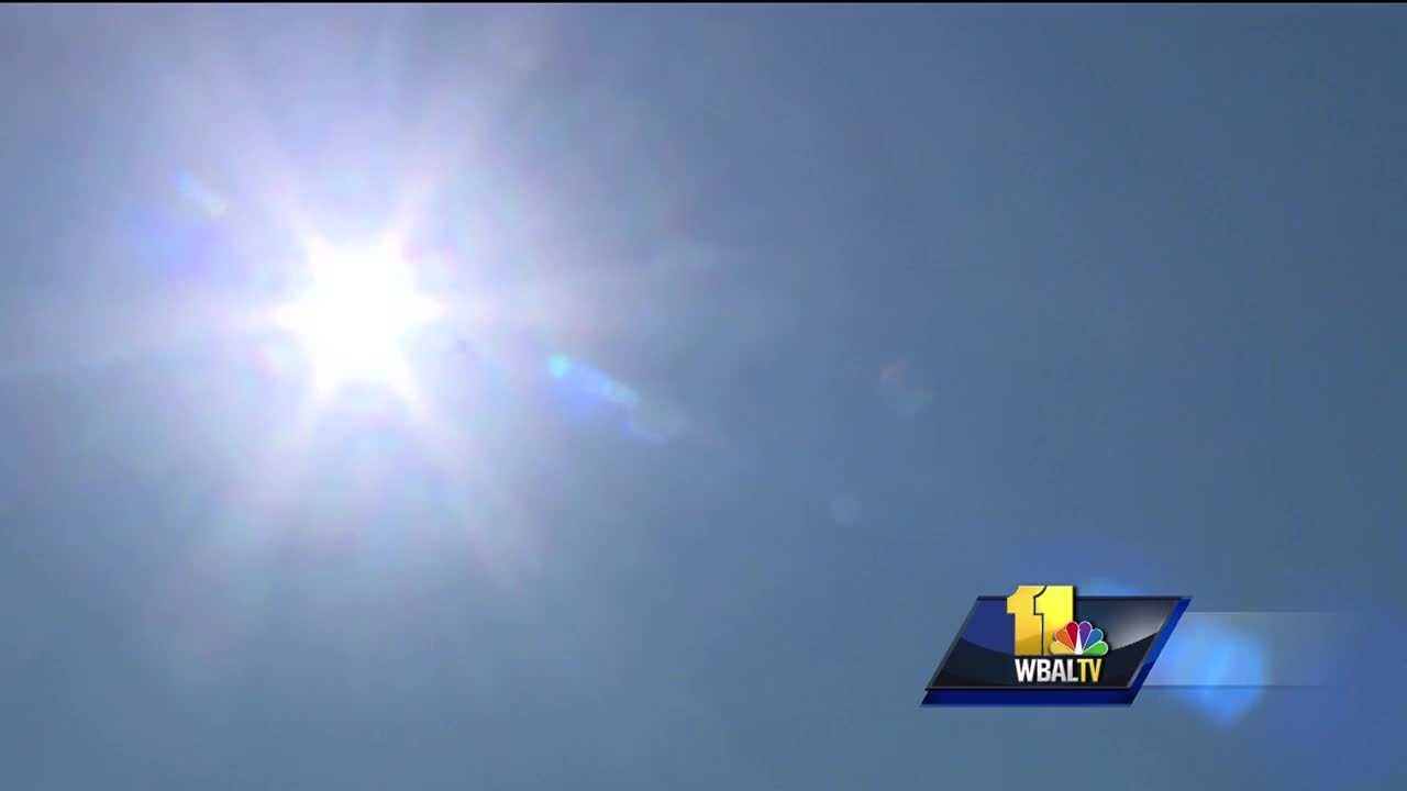 Baltimore health officials are warning residents to be careful as the area braces for its first extended stretch of hot weather this summer. High temperatures are expected to stay in the 90s the next four days, 11 Insta-Weather PLUS meteorologist Ava Marie said. The National Weather Service has issued a heat advisory from noon to 8 p.m. Wednesday. A Code Orange air quality alert took effect Wednesday, which, according to the National Weather Service, means air pollution concentrations within the region may become unhealthy for children, people suffering from asthma or other lung diseases, people with heart diseases and the elderly.