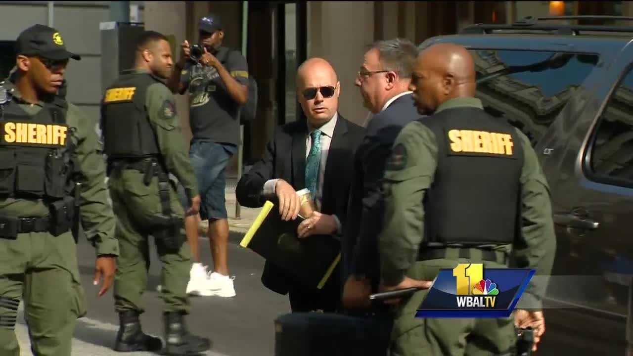 The trial of Lt. Brian Rice, the highest-ranking officer charged in the in-custody death of Freddie Gray, began with opening statements Thursday. Rice is the fourth of six officers to go on trial in the Gray case. He faces manslaughter, assault, reckless endangerment and misconduct in office charges in connection to Gray's death. The 25-year-old died April 19, 2015, a week after he suffered a neck injury while in a police transport van. Prosecutors dropped one misconduct charge against Rice when court began Thursday morning.