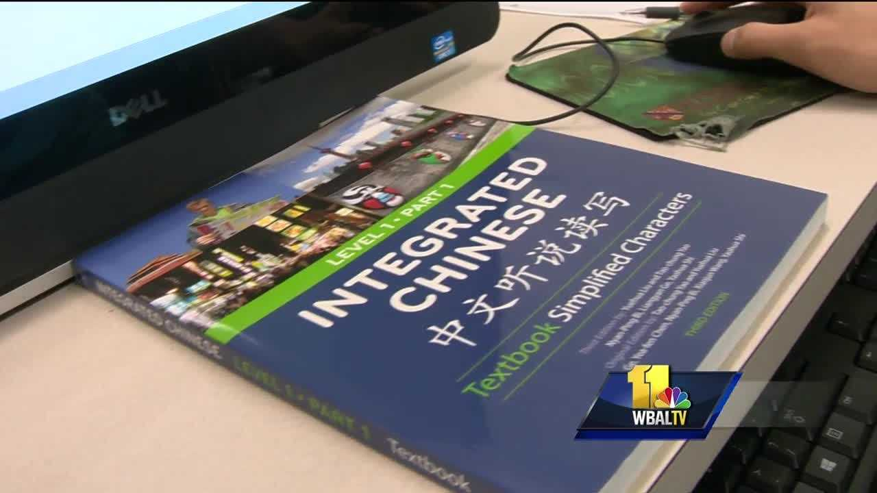 Some Maryland high school students are not satisfied mastering just one language. So, they are spending part of their summer on a college campus learning Chinese and Arabic. It's an intense five-week program on the campus of Howard Community College where students from across the state step out of their comfort zone.