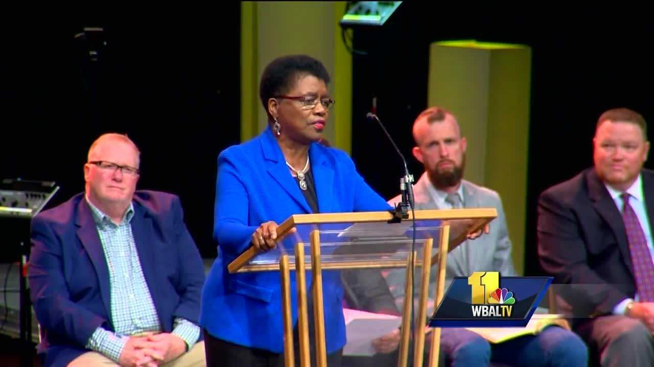 Faith communities across Maryland are helping people cope with the past week's headlines and it was no exception in Howard County Wednesday night.
