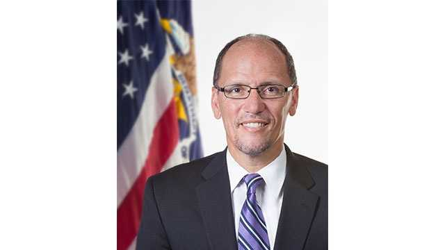 U.S. Labor Secretary Thomas Perez, a Maryland resident, is among those being discussed as a potential vice presidential candidate for Democrat Hillary Clinton.