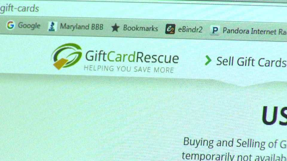 A Columbia-based company, Gift Card Rescue,  owes customers more than $13,000 and the business does not have a plan to pay them, according to the Better Business Bureau.