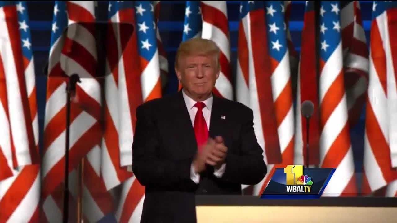Republican presidential nominee Donald Trump is calling himself the law-and-order candidate. So what does that mean to residents of Baltimore, one of the cities he singled out in his address Thursday night? Trump gave Baltimore a shout out for all the wrong reasons. Killings actually increased in Baltimore by 61 percent last year. Many people who thought Trump would offer a solution, as he promised to restore a sense of public safety, noticed that pledge was void of details.