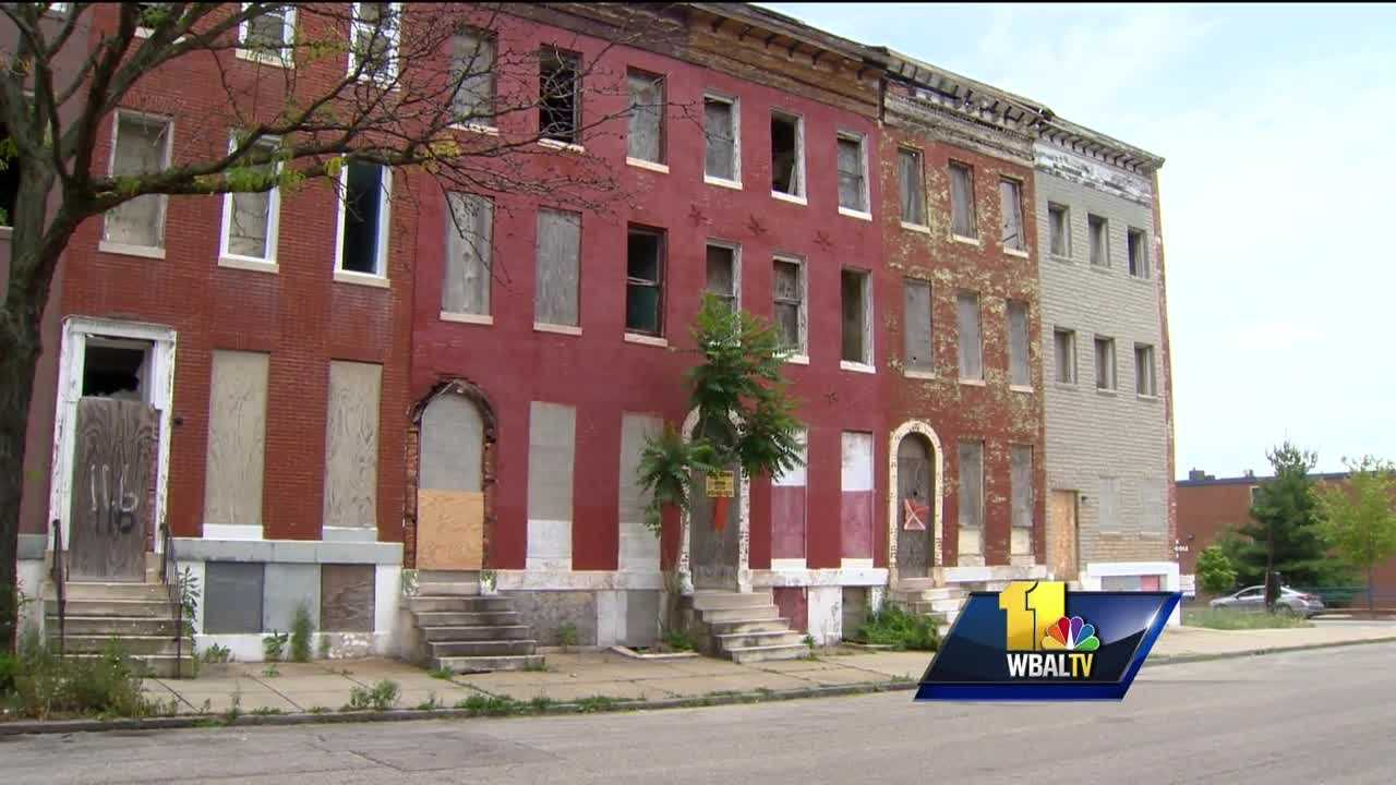 baltimore working to clear vacant houses