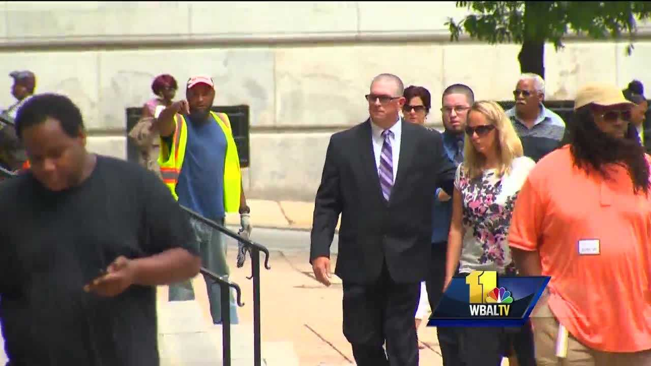 The criminal trial of Baltimore City police Officer Wesley Cagle continued Tuesday.