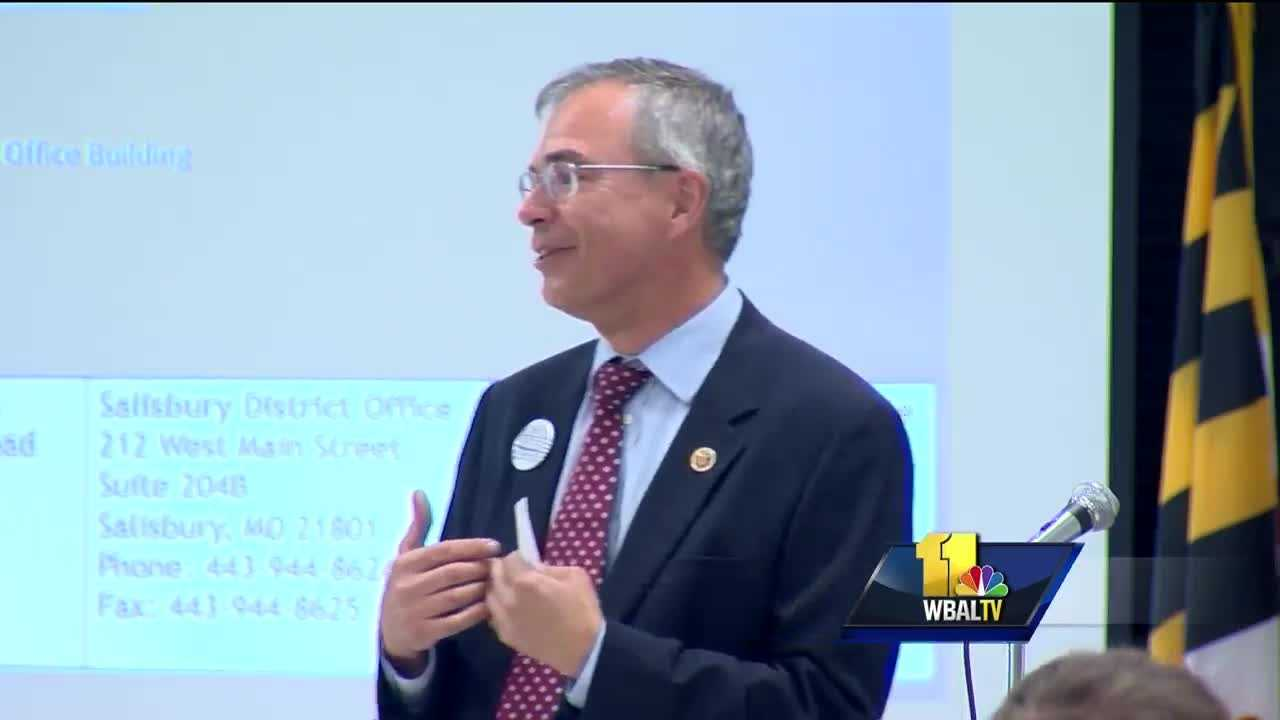 U.S. Rep. Andy Harris weighed in on the Democratic divide seen between supporters of Bernie Sanders and Hillary Clinton. Harris, the lone Republican in the Maryland congressional delegation, boldly predicted that the GOP will unite around their presidential candidate, Donald Trump, more than the Democrats will around Clinton.