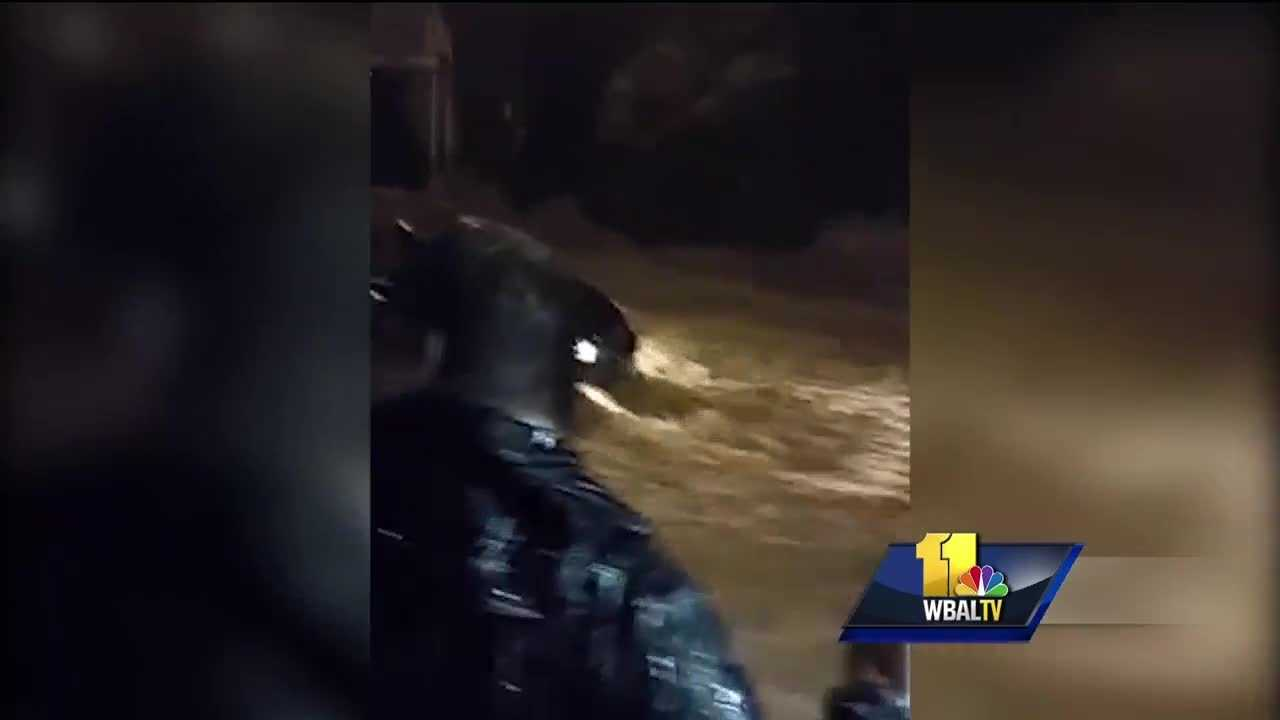 Among the flooding and devastation are stories of people finding the best in themselves. On Saturday, during the worst of the flooding, a group of people formed a human chain and, at no small risk to themselves, rescued a woman trapped in her car in the raging water. One of the men lost his footing and almost got swept away himself.
