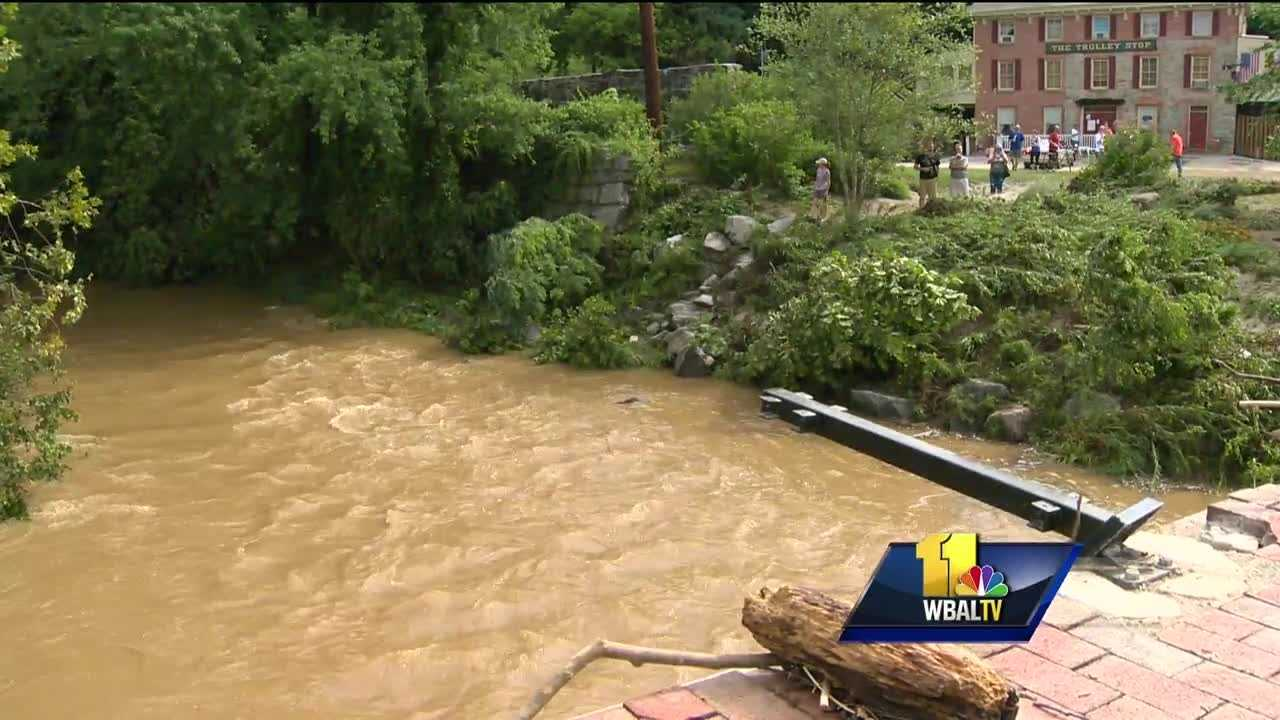 """As bad as Saturday's flooding was, it's not without precedence as Ellicott City has a history of flooding. Some are now suggesting that history should be taken into account before rebuilding begins. The history is so well known, that Howard County commissioned a study after the last round of flooding to figure out how to protect the historic town. But the question is, """"Is that even possible?"""""""