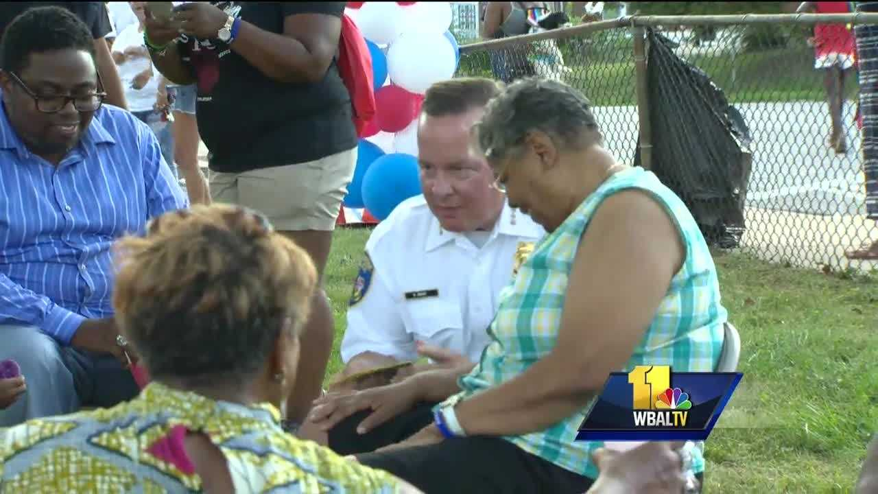 Communities across the country gathered Tuesday for National Night Out. The annual event is designed to establish closer ties between police and the people they serve.