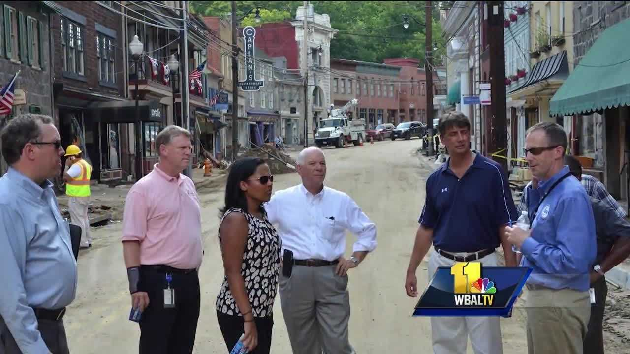 The pain is still raw and the healing will take time as authorities continue to keep home and business owners out of the devastation in historic Ellicott City.
